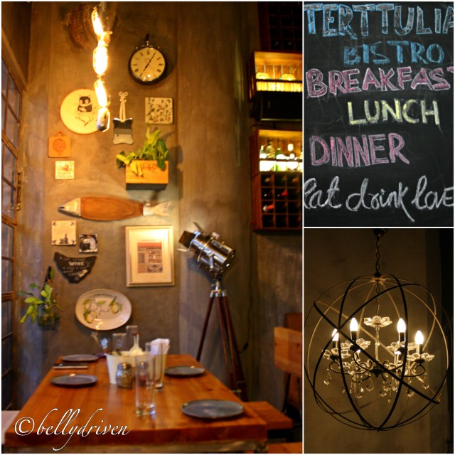 The Ambience at Terttulia Bistro