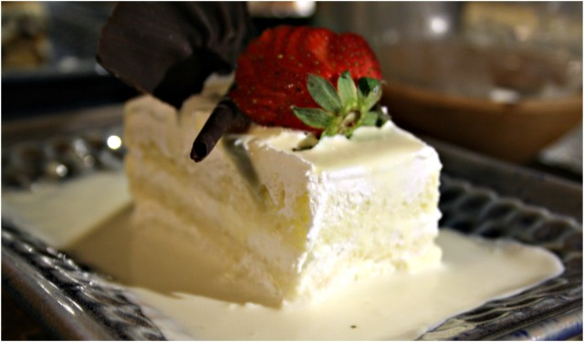 The Tres Leches Cake