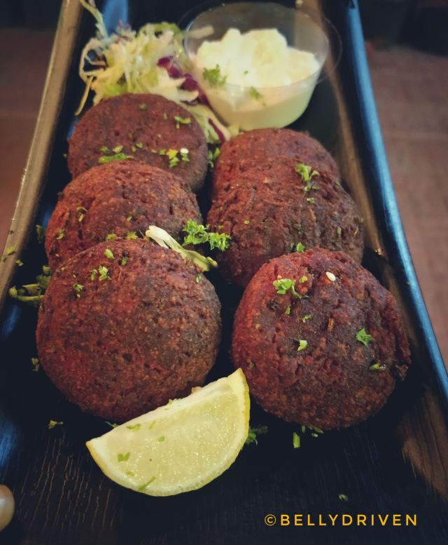 Beetroot Kebabs at Souk by Cafe Arabia