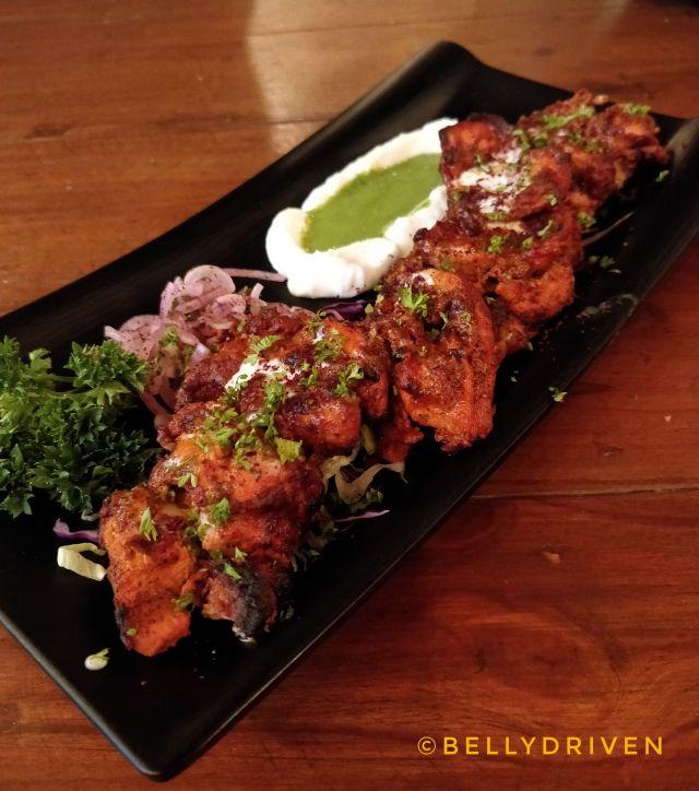 Sumac Chicken Tikka at Souk by Cafe Arabia